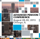 Advanced Pension Conference | 8/28-30/2013 | Chicago, IL