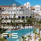 Advanced Pension Conference | Orlando, FL. 2/7-9/2018