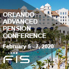 Advanced Pension Conference | 2/5-7/2020 | Orlando, FL